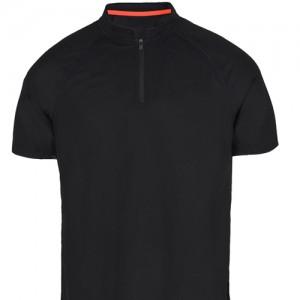 Мужская рубашка ПОЛО с молнией